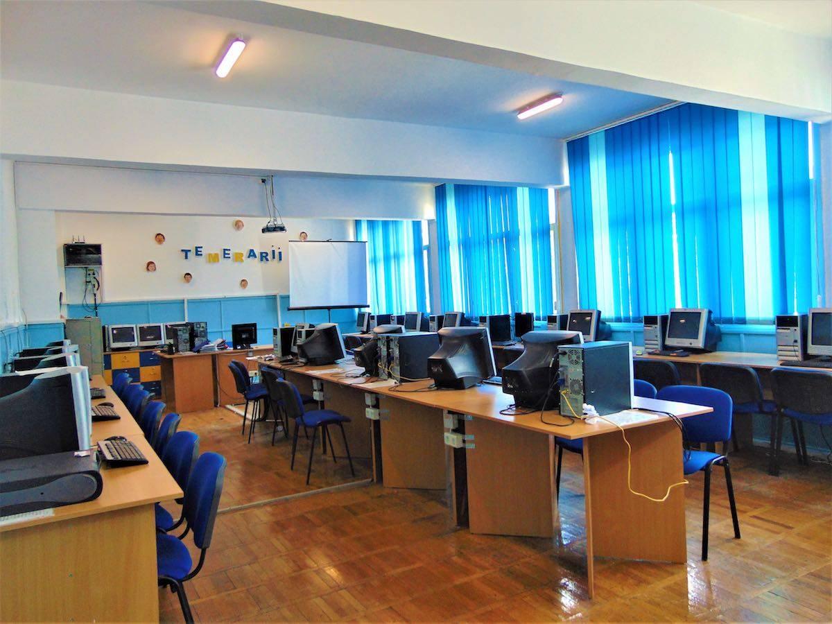 Laboratorul de informatică