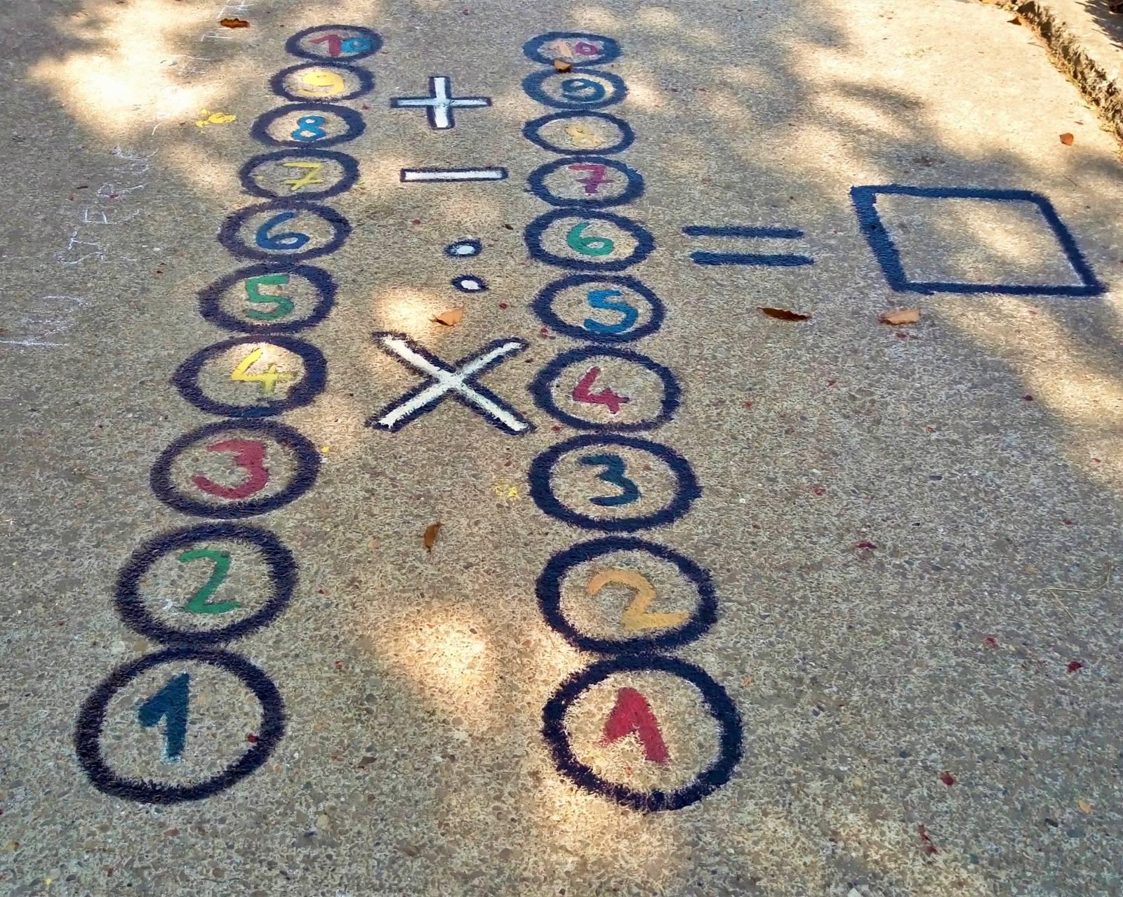 desene permanente pe asfalt scoala moinesti 2